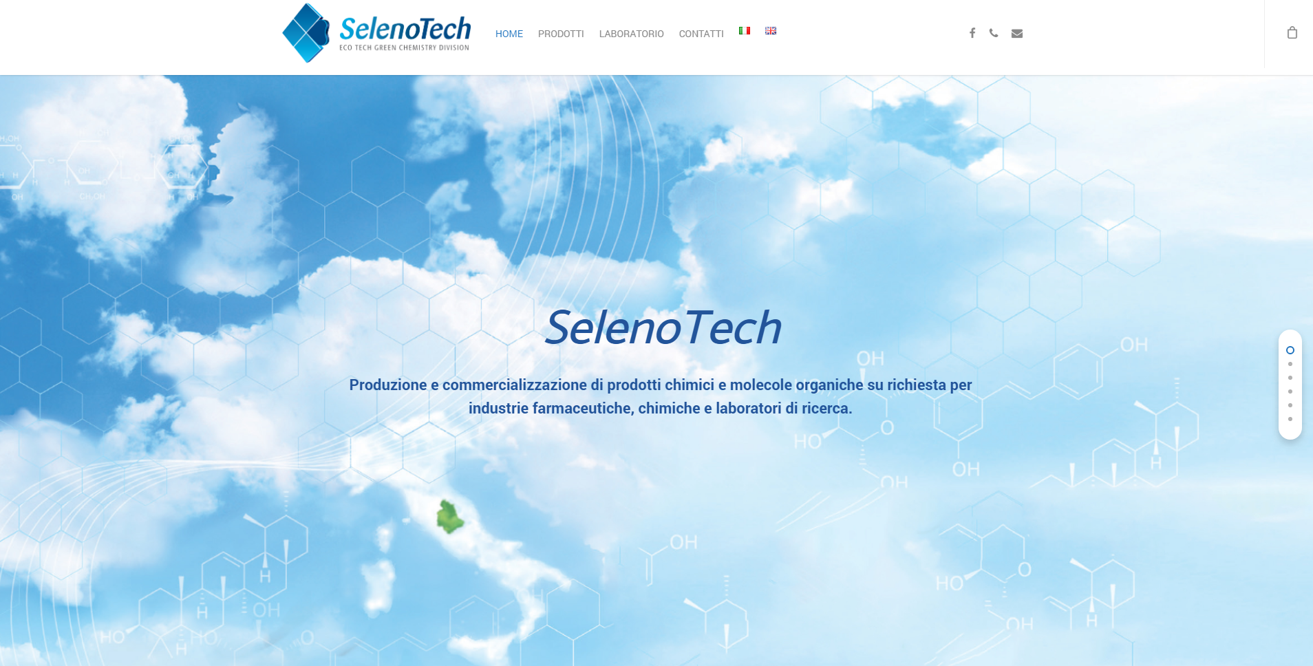 SITO WEB E-COMMERCE SELENOTECH