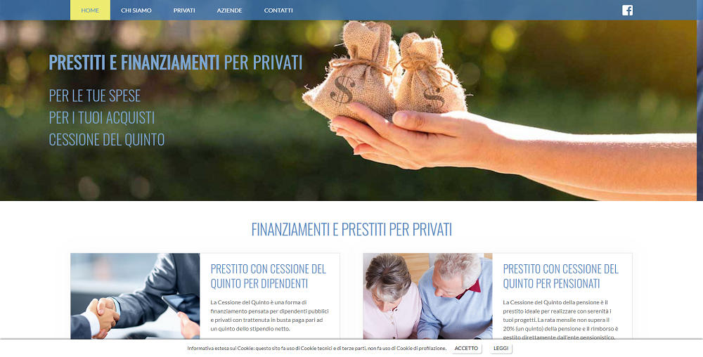 Sito web csf group perugia