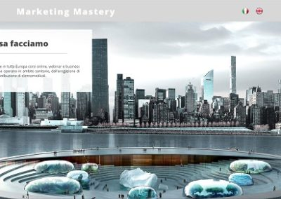 Marketing Mastery. Sito vetrina